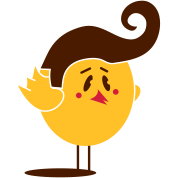 A little chick with 50s hairstyle