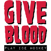 Give Blood Play Ice Hockey