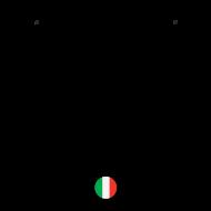 T-Shirt Je suis Italienne<br />imprimer sur un tee shirt