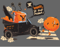Motif Orange pressée