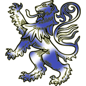 Scottish Lion Rampant and Saltire Flag