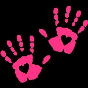 hånd hjerte
