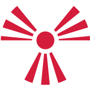 Radiation Sign (Rising Sun) (Vector)