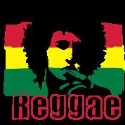 Flag Reggae giamaicana.