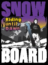 T-Shirt SnowBoard Riding<br />imprimer sur un tee shirt