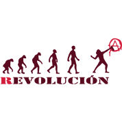 r-evolution, evolution, revolution, street art, anarchy
