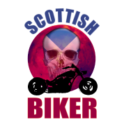 Scottish Biker Skull Chop