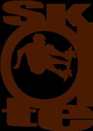 T-Shirt Skate Logo Style<br />imprimer sur un tee shirt