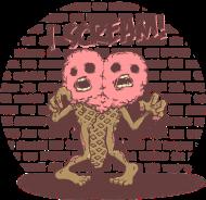 T-Shirt Zombies eat brains -you are safe<br />personnalisation vêtement