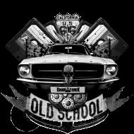 T-Shirt Old School<br />imprimer sur un tee shirt