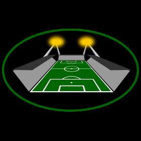 Flutlichtspiel Fussballstadion auf dein T-Shirt