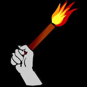 Pyrotechnik Fussball auf dein T-Shirt