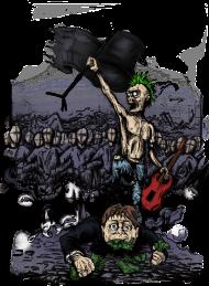 T-Shirt anarchy<br />imprimer sur un tee shirt