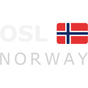 OSL NORWAY white-lettered 400 dpi