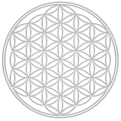 Flower of Life - FEEL THE ENERGY, Silver, Sacred Geometry, Protection Symbol, Harmony, Balance