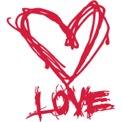I love grunge style heart for lovers and valentine's day t shirts