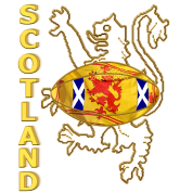 scotland saltire and lion rugby 2012