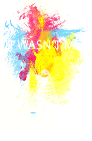 T-Shirt it wasn't me!<br />personnalisation v&ecirc;tement