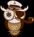 Motif Capitaine hibou