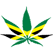 cannabis jamaica flag