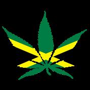 cannabis jamaica flag