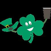 Shamrock for St Patrick's Night