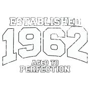 established 1962 - aged to perfection (uk)