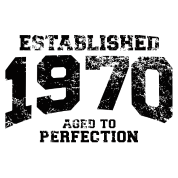 established 1970 - aged to perfection(uk)