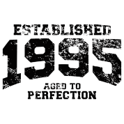 established 1995 - aged to perfection(uk)
