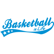 basketball is life - retro