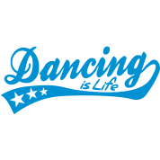 dancing is life - retro