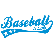 baseball is life - retro