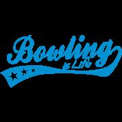 bowling is life - retro