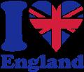 Motif I love England