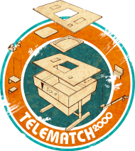T-Shirt telematch2000<br />imprimer sur un tee shirt