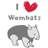 Motiv ~ I love Wombats, too...