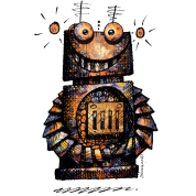 Rusty Robot by Paul Stickland