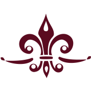 Fleur de Lis - Lily Flower, Trinity Symbol - Charity, Hope and Faith, c, 1