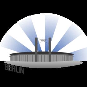 Berlin Fussballstadion auf dein T-Shirt
