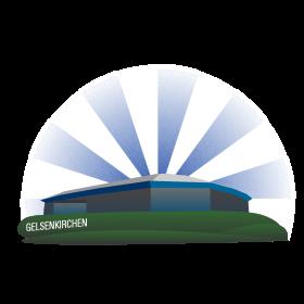 Schalke Fussballstadion auf dein T-Shirt