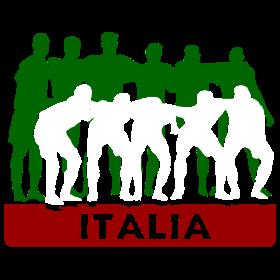 Italien Team auf dein T-Shirt