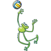 Volleyball Frog