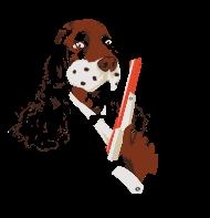 T-Shirt Dog hunt<br />imprimer sur un tee shirt