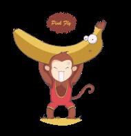 T-Shirt Monkey force<br />imprimer sur un tee shirt
