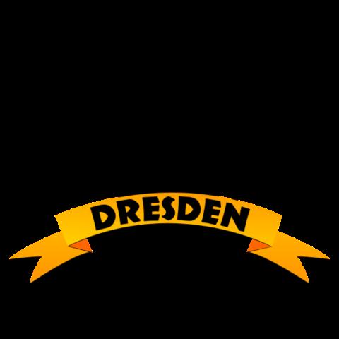 Dresden Wappen Löwe auf dein T-Shirt