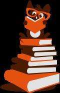 Motif Rat de bibliothèque