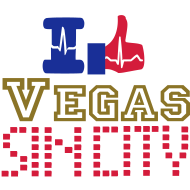 Design ~ I like Las Vegas sin city dotted