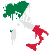 Map of Italy Design