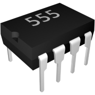 Electronic Component Image - 555 Timer Chip