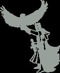 Motif Templier et son aigle